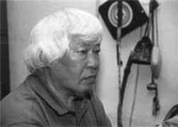 Верховный шаман Тувы Монгуш Кенин-Лопсан.